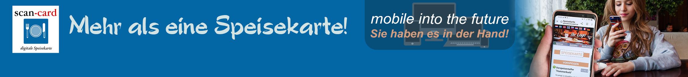 digitale Speisekarte-banner